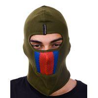 Tiekart men green bikers mask