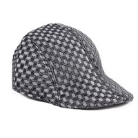 Tiekart men monochrome winter golf cap