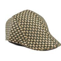 Tiekart men beige winter golf cap