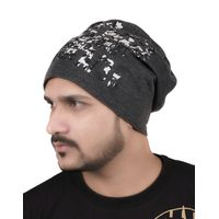 Tiekart men grey beanie winter cap