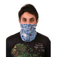 Tiekart men blue floral bandana
