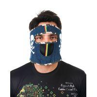 Tiekart men blue bikers mask