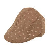 Tiekart men brown funky winter golf cap