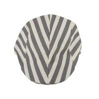 Tiekart men grey striped winter golf cap