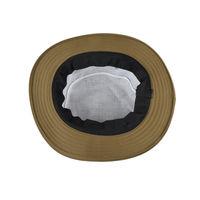 Tiekart men brown plain solids  floppy hat