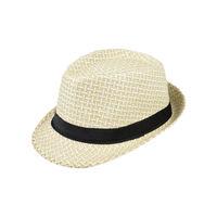 Tiekart men cream hat