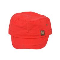 Tiekart men red plain solids  winter caps