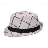 White Cotton Hats for Men