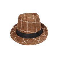 Brown Cotton Hats for Men
