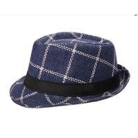 Blue Cotton Hats for Men