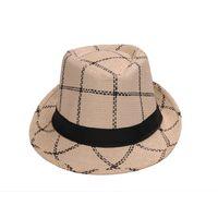 Cream Cotton Hats for Men