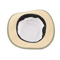 Tiekart men beige plain solids  floppy hat