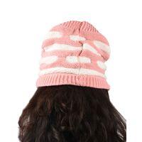 Tiekart women pink  wollen cap