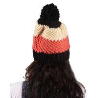 Tiekart women multi floral wollen cap