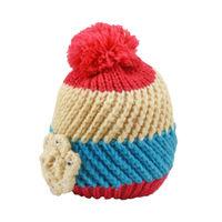 Tiekart women multi paisely woollen cap