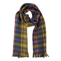 Multi Color Checkered Flannel Warm Winter Muffler Scarf Stole for Men and Women