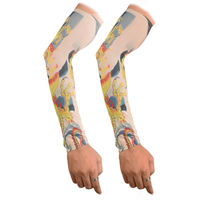 Tiekart men cream arm sleeves