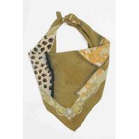 Tiekart men beige silk scarf