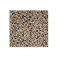 Tiekart men multi paisely silk pocket square