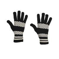 Tiekart men monochrome  woollen gloves