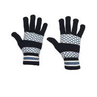 Tiekart men blue  woollen gloves