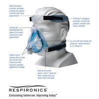 Philips COMFORT GEL BLUE  Full Face Mask