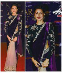 Anushka Purple / Beige Saree