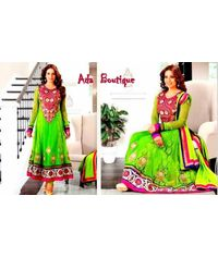 Bipasha Basu Stylish Green  Anarkali