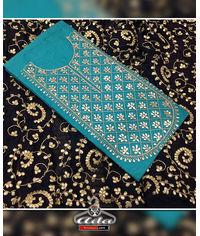 Blue/Black Gotta Patti Dress