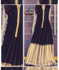 Black/Golden Gown Dress