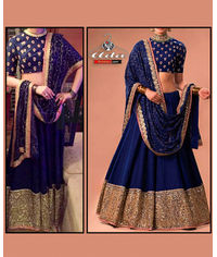 Blue Lehenga Dress