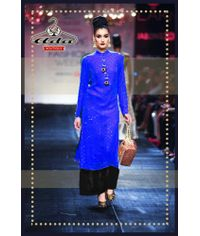 Blue Kaamdani Dress