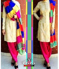 Banarasi Multicolor Dress