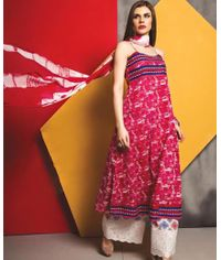 Soothing Self Design Dress
