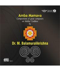 Dr M Balamuralikrishna  Vol 1