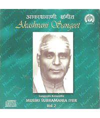 Musiri Subramania Iyer  Vol 2