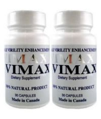 Vimax Pills Two Bottles made in Canada