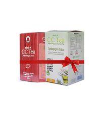 Combo Pack - 1 pc of CC Tea 200 g Granule  + 1 pc of CC Tea 100 Tea Bag pack.