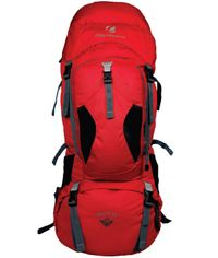 MONT BLANC 75 L Red/Grey