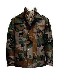 Combat Jacket Woodland Reversible