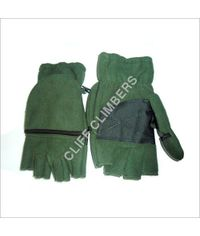 hand gloves fleece wind proof half Og