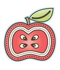 Apple - Mini Stamp