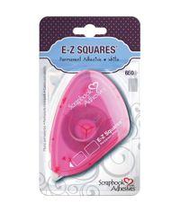 E-Z Permanent Square Tabs 650/Pkg