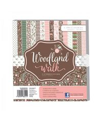 "Woodland Walks Premium Paper Pack 8"" x 8"""