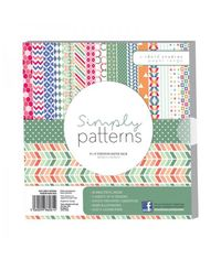 "Simply Patterns Premium Paper Pack 8"" x 8"""