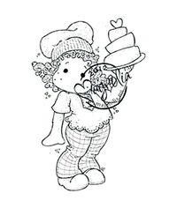 Tilda with Love Cake
