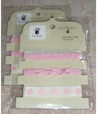 Speciality Ribbon/Trim - Pink