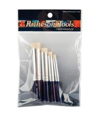Stencil Brush Set For Artist's Paintstiks 4/Pkg