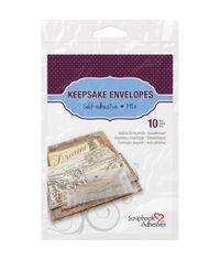 Scrapbook Adhesives Keepsake Envelopes 10/Pkg - Assorted Sizes