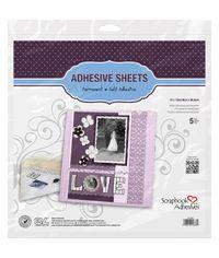 Permanent Adhesive Sheets 5/Pkg